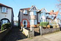 semi detached house in Lynton Avenue, London...