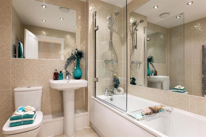 Typical Lydford Show Home