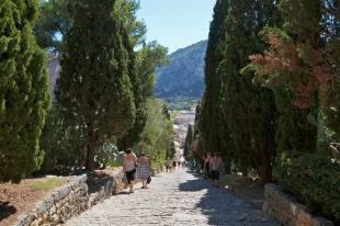 Calvario steps