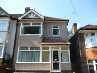 semi detached home in Perkins Road...