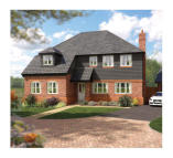 5 bed new house in Cuddington Cuddington...