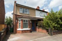 3 bedroom semi detached house in Grange Road, Chorlton...