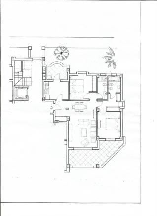 Plan of Apartment 1