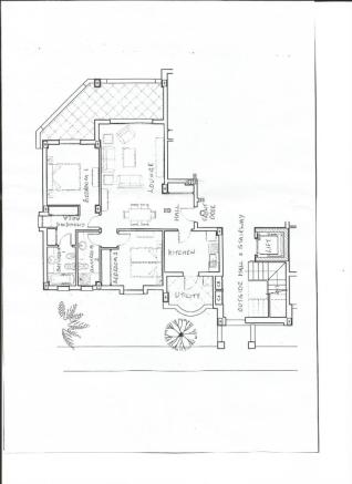 Plan of Apartment 2