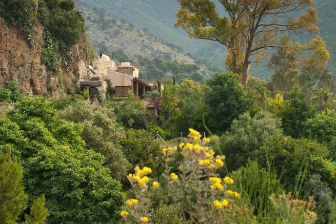 Villa and land