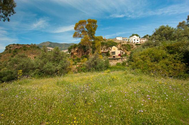 Land and villa