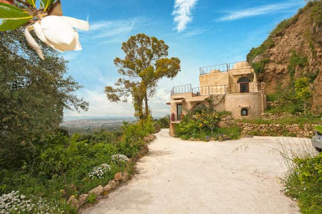 Villa and views