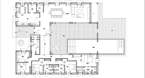 Villa's floorplan