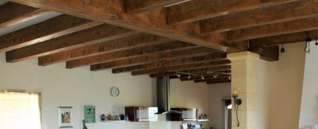 Ex of exposed beams