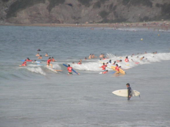 Surfing school