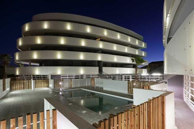 Property view & pool