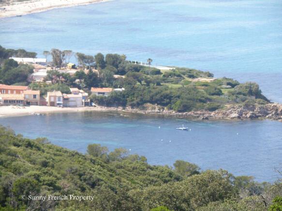 St Tropez coastline