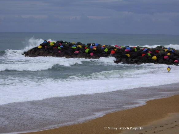 Surfing spot