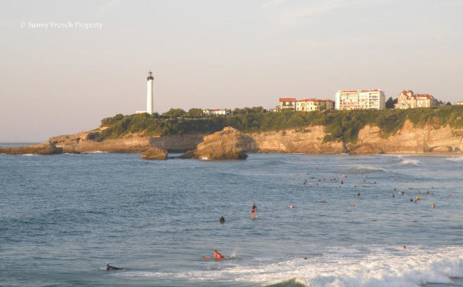 Surf in Biarritz