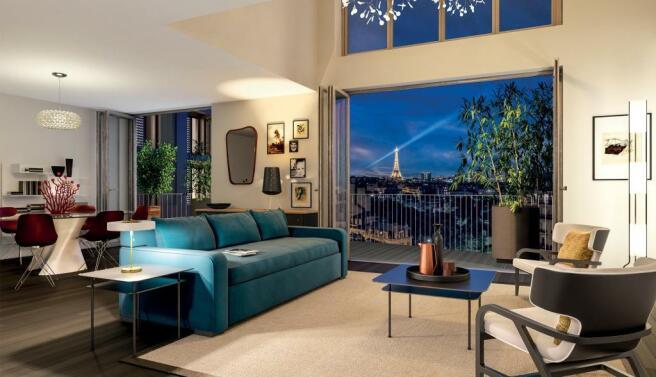 Unit 294 living room