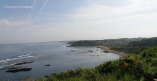Basque coastline