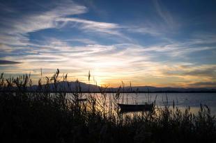Canet lagoon