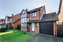 Detached home in Groveside Close, Acton...