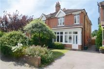 semi detached home in Walpole Road...