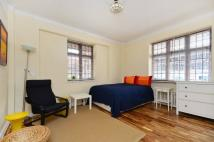 Studio apartment in Judd Street, Bloomsbury...
