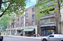 Flat in Store Street, Bloomsbury...
