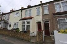 Terraced house in Corbett Road...