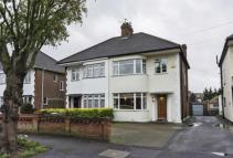 3 bed semi detached home in Foresters Drive...