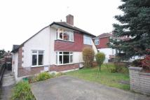 The Crescent semi detached property for sale