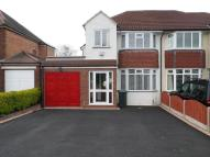 semi detached home for sale in Yoxall Road, Shirley...