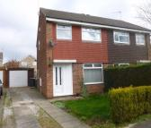 3 bed semi detached property in Wentworth Way...