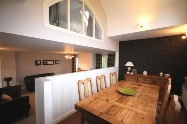 Elevated Dining Room