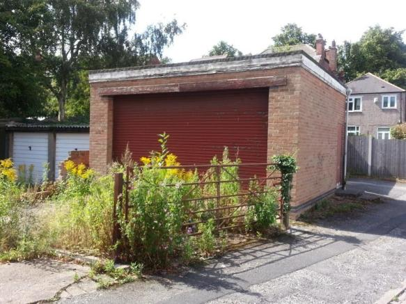Property For Sale In Detached Double Lock Up Garage