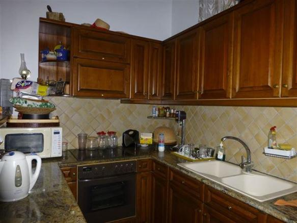 Kitchen in the guest house