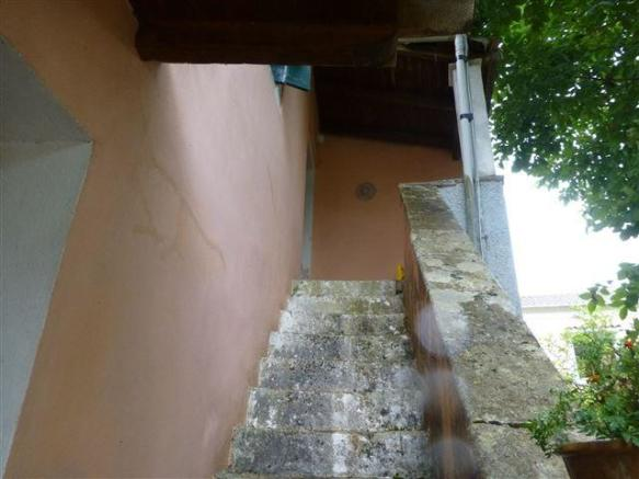 stone external steps