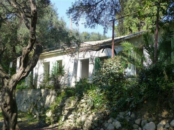 Houses for sale in Paleokastritsa Corfu