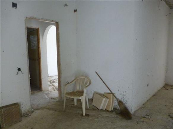 unfinished interior