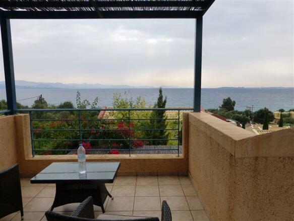 upstairs terrace