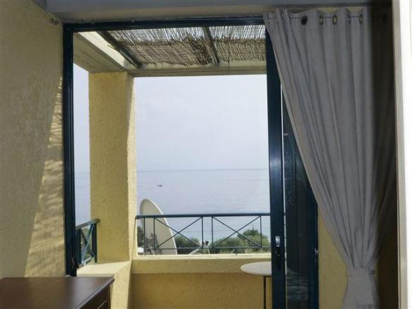 view from one of the bedrooms