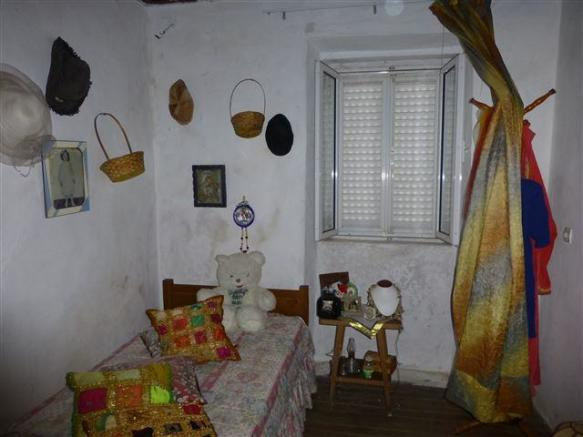 inside the old part of the house