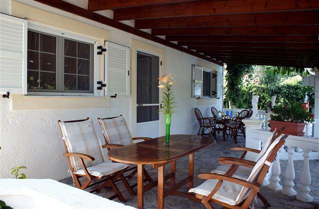 veranda of villa 1