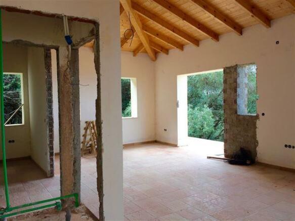 upstairs at villa