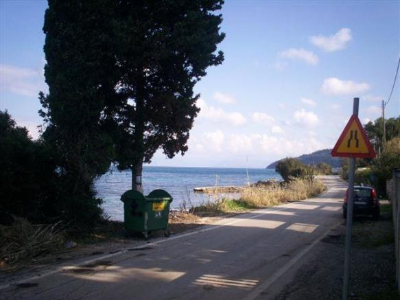 south east coast, small road close to the villas