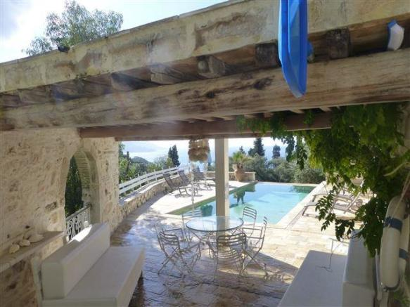 looking towards the swimming pool