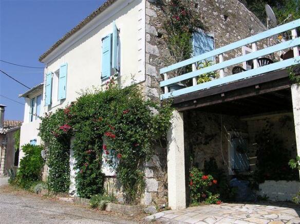 Traditional Corfu property