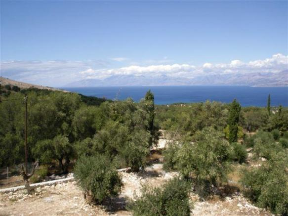 View from Villa Aetos