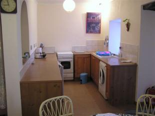 kitchen in the apartment