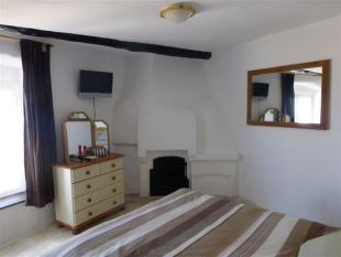 fireplace in main bedroom