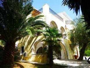 The villa and garden