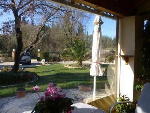 The covered verandah