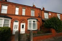 Terraced home in Chester Road West...
